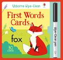Picture of Wipe-Clean First Words Cards