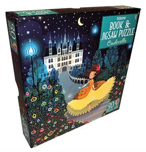 Picture of Cinderella - Book & Jigsaw Puzzle (30 pcs)
