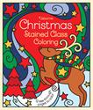 Picture of Christmas Stained Glass Coloring