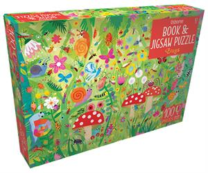Picture of Bugs - Book & Jigsaw Puzzle (100 pcs)