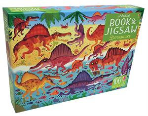 Picture of Dinosaurs - Book & Jigsaw Puzzle (100 pcs)