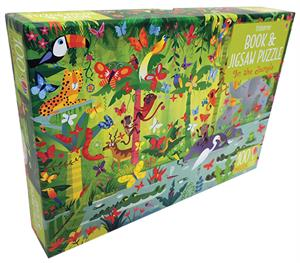 Picture of In the Jungle - Book & Jigsaw Puzzle (100 pcs)
