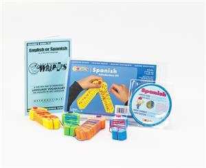 Picture of Learning Wrap-Ups Spanish Introductory Kit w/CD