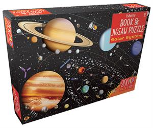 Picture of Solar System - Book & Jigsaw Puzzle (IR)(200 pcs)