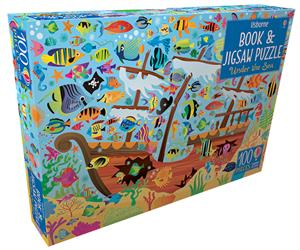 Picture of Under the Sea - Book & Jigsaw Puzzle (100 pcs)