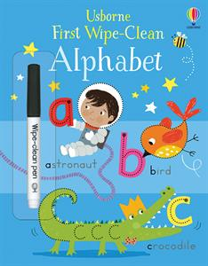 Picture of First Wipe-Clean Alphabet (IR)