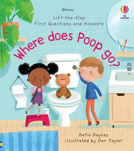 Picture of Lift-the-Flap First Questions and Answers: Where Does Poop Go? (IR)