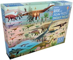 Picture of Dinosaur Timeline - Book and Jigsaw Puzzle (IR)(300 pcs)