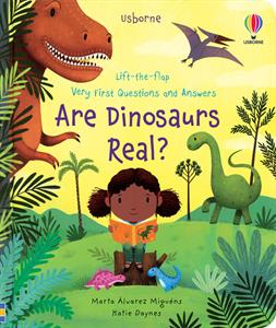 Picture of Lift-the-Flap Very First Questions and Answers: Are Dinosaurs Real?
