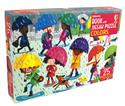 Picture of Colors - Book and Jigsaw Puzzle (25 pcs)